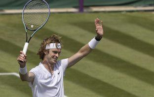 Rublev batte Fognini e vola agli ottavi a Wimbledon