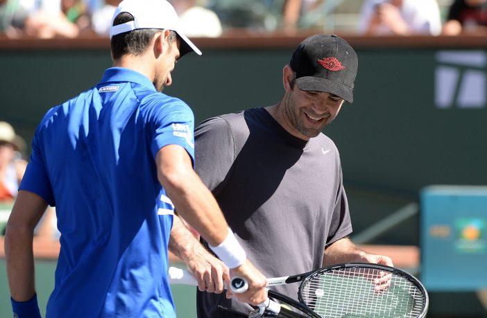 Pete Sampras e Novak Djokovic