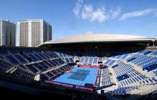 Il tennis park olimpico a Tokyo