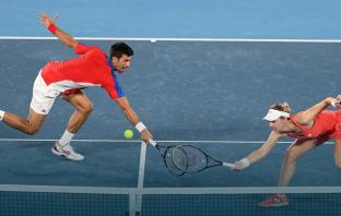 La simpatica sfida lanciata da Fognini e Sousa a Djokovic