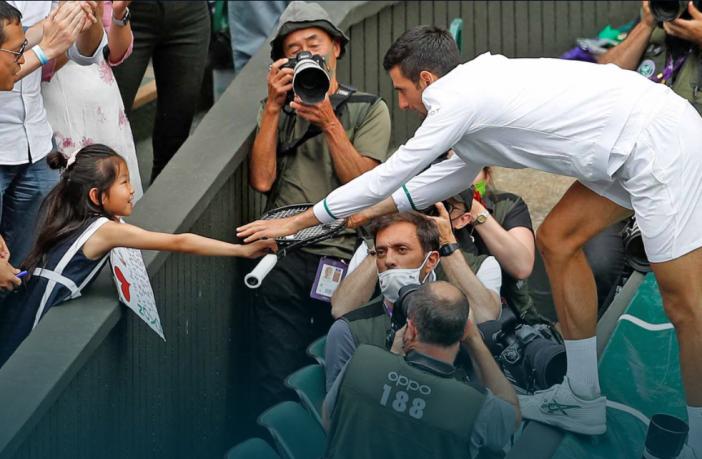 """L'ex stella britannica su Djokovic: """"Merita più amore e rispetto"""""""