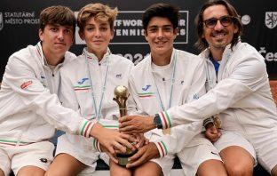 Italia under 14 su tetto del mondo del tennis