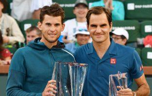 Thiem elogia Federer: la mia più grande fonte d'ispirazione