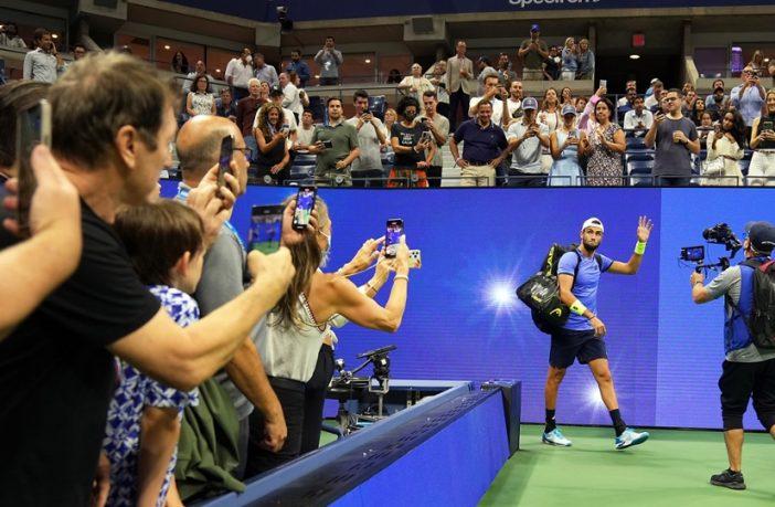 Berrettini perde con Djokovic e saluta gli US Open