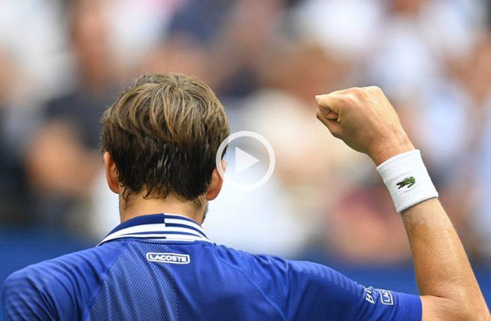 I migliori colpi di Daniil Medvedev agli US Open