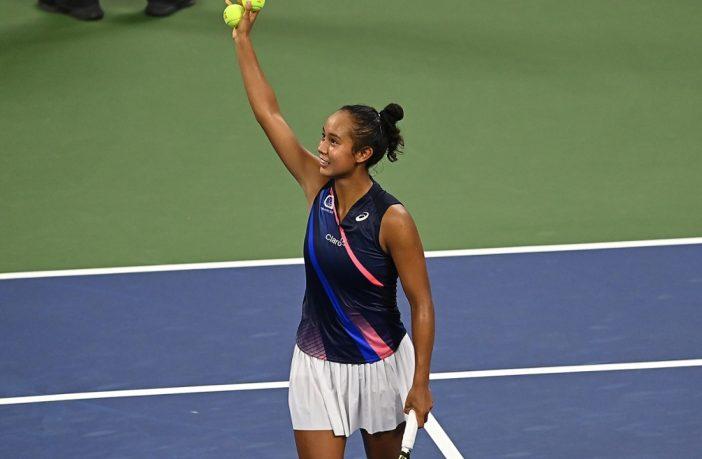 Leylah Fernandez agli US Open