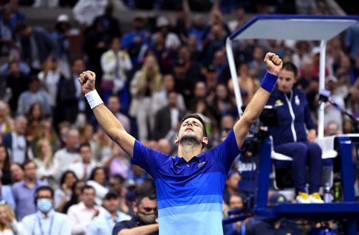 Novak Djokovic vince contro Alexander Zverev a New York