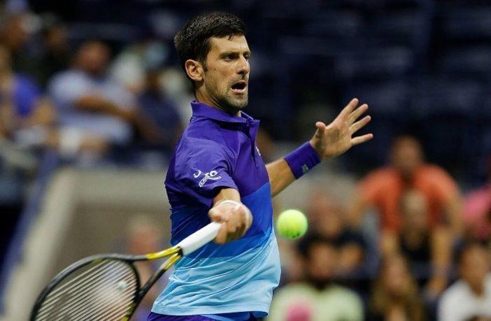 Djokovic e la divisa da Squid Game