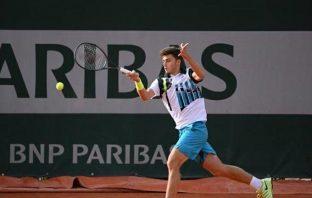 """Luca Nardi: """"Non sento la pressione e non penso solo al tennis"""""""