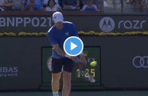 Il servizio da sotto perfetto di Andy Murray